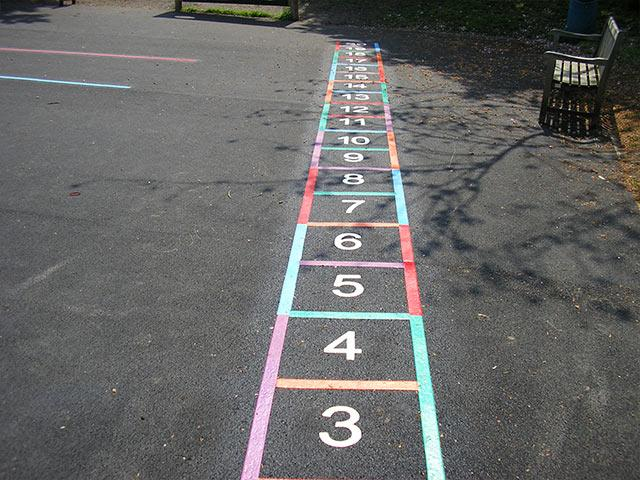 Thermoplastic Line Marking