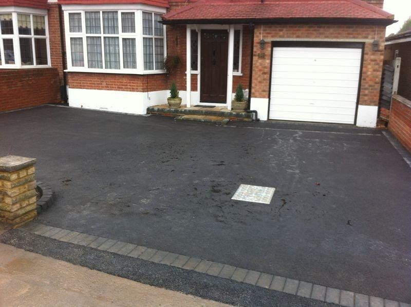 small driveway