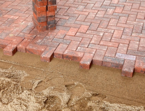 How re-sanding can prolong the life of your block paving