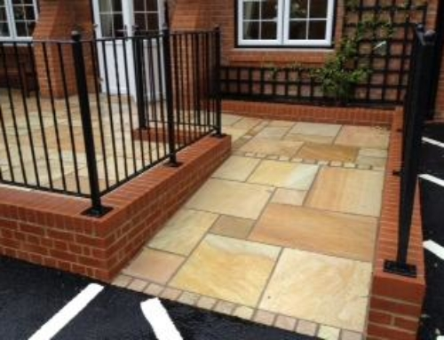 How to plan your Indian sandstone or block paving patio