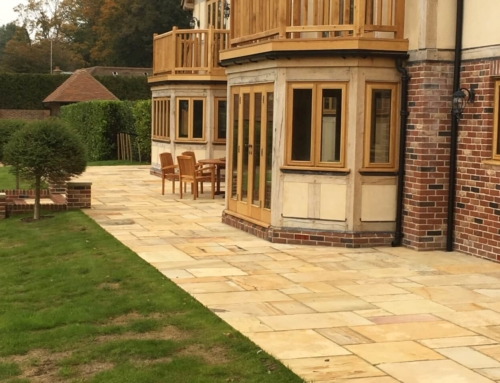 How to Lay Indian Sandstone