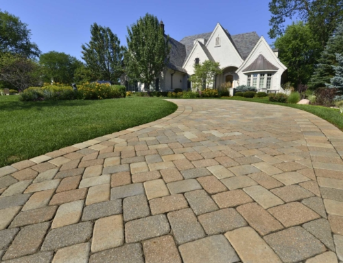 How to Lay Paving Slabs on an Existing Concrete Base