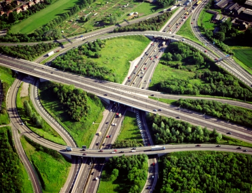 All New Road Markings on World's First Smart Highways